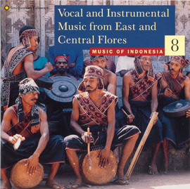 Music of Indonesia, Vol. 8: Vocal and Instrumental Music from East and Central Flores