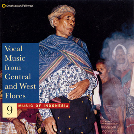 Music of Indonesia, Vol. 9: Music from Central and West Flores