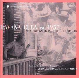 Havana, Cuba, ca. 1957: Rhythms and Songs for the Orishas