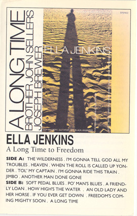 Ella Jenkins ~ A Long Time to Freedom