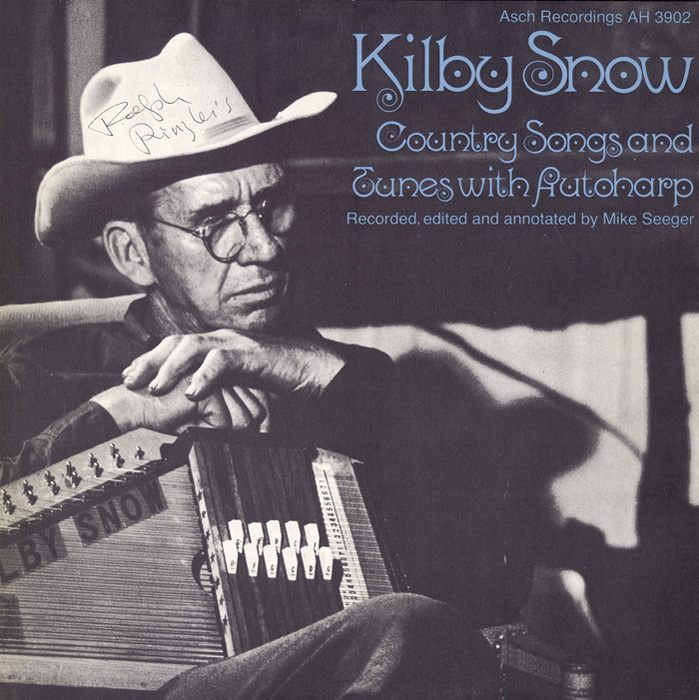 Kilby Snow: Country Songs and Tunes with Autoharp