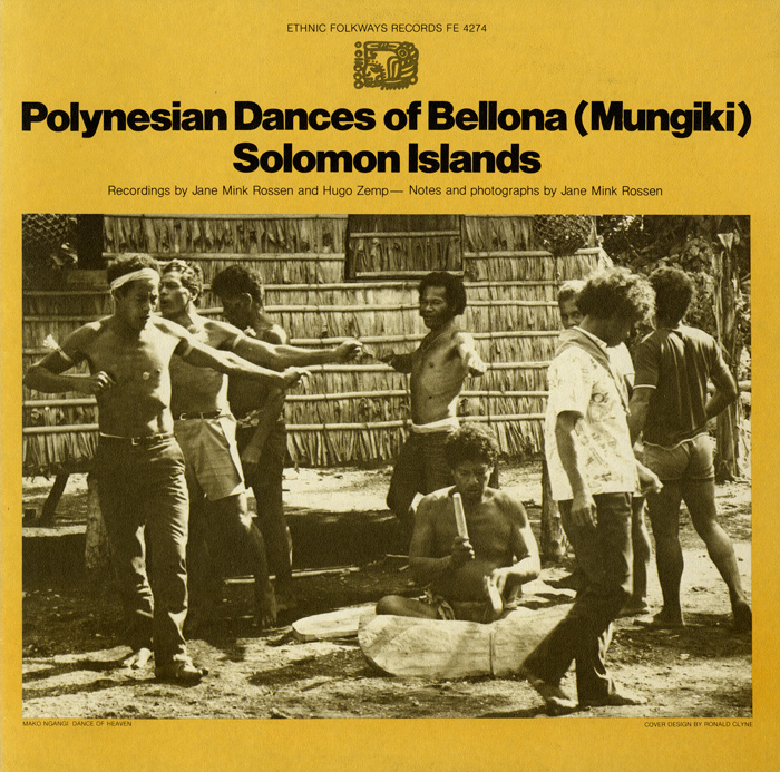Polynesian Dances of Bellona (Mungiki), Solomon Islands