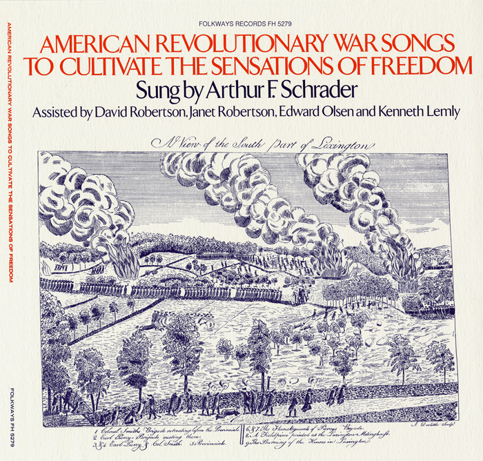 American Revolutionary War Songs to Cultivate the Sensations of Freedom