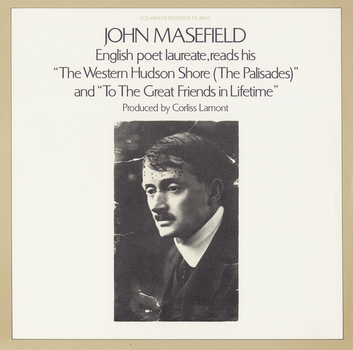 John Masefield Reads His Poetry
