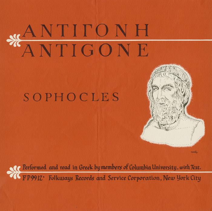 Antigone: Sophocles (In the Original Greek)