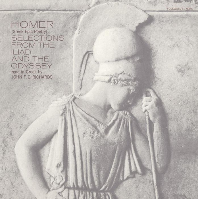Homer - Greek Epic Poetry: Read in Greek by John F.C. Richards