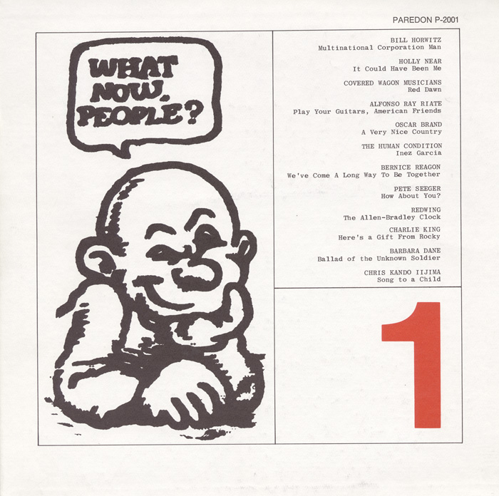 What Now People?, Vol. 1