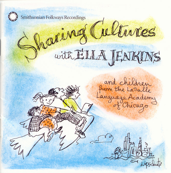 Sharing Cultures with Ella Jenkins and children from the LaSalle Language Academy of Chicago