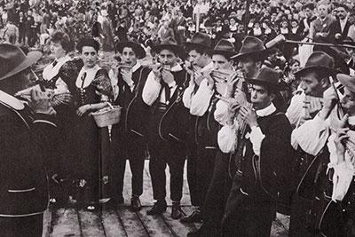 From Tarantella to Tyrol: a Tour of Italian Folk Music
