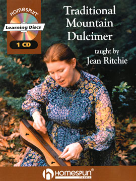 Traditional Mountain Dulcimer Taught by Jean Ritchie (Book)