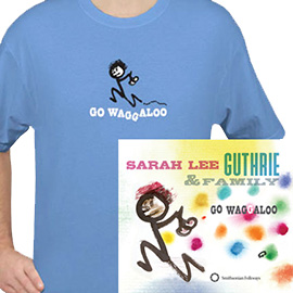 Go Waggaloo T-Shirt/Album Package