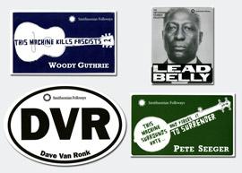 Americana Stickers Bundle – Four Stickers