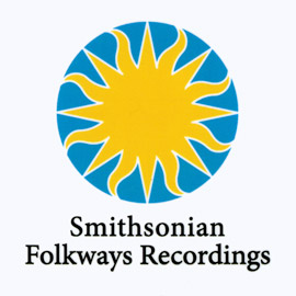 White Smithsonian Folkways Sticker