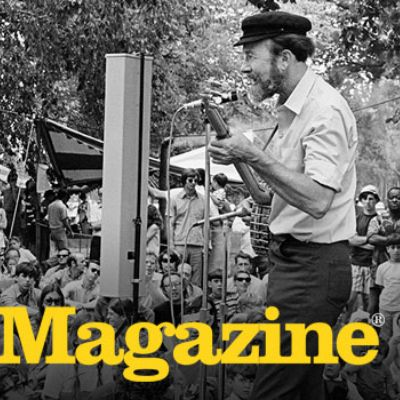 Featuring Pete Seeger Standing Tall | Smithsonian Folkways Magazine