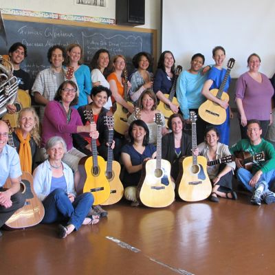 Magazine - Summer 2011 - Smithsonian Folkways Certification Workshop in World Music Pedagogy
