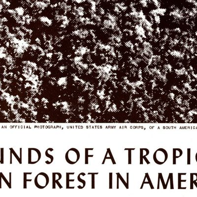 Magazine - Fall/Winter 2012 - When It Rains, It Pours: Sounds of a Tropical Rain Forest in America and the Birth of the Science Series