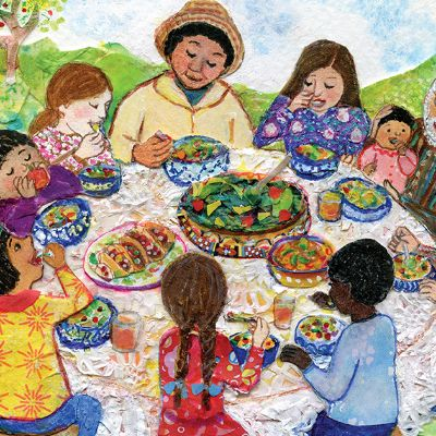 ¡Come Bien! Eat Right! - Lesson Plan | Smithsonian Folkways Magazine