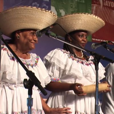 Cantadoras del Pacífico Performs Currulao Music at 2009 Smithsonian Folklife Festival