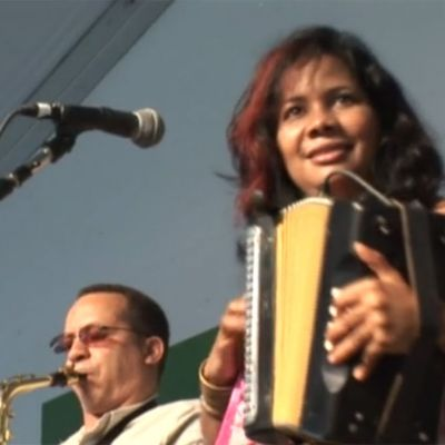 La India Canela at the 2009 Smithsonian Folklife Festival (Merengue Típico)